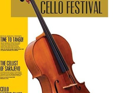 International Cello Festival Poster design