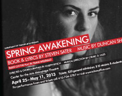 Spring Awakening Poster Design