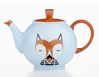 Crate&Barrel Limited Edition Teapot.