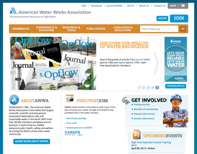 American Water Works Association - Web Strategy