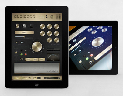 Audiopad - Touch User Interinterface
