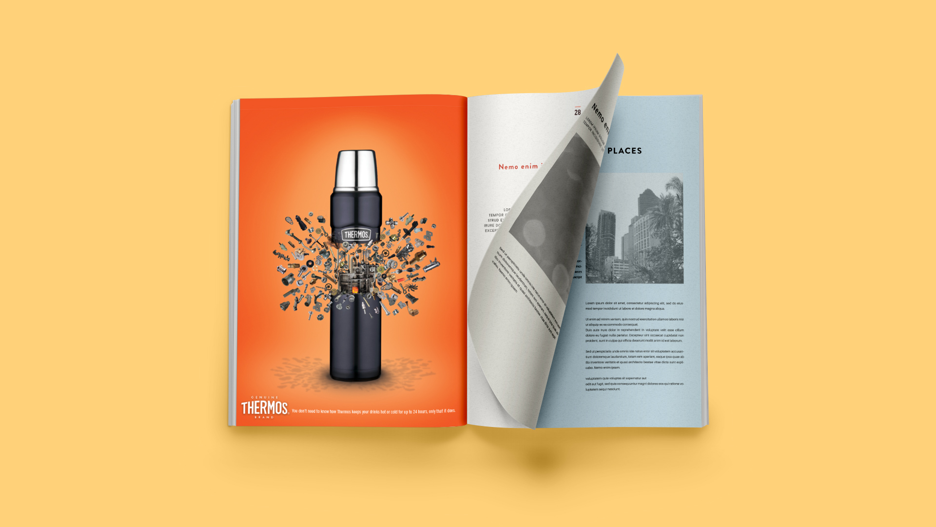 Thermos Brand Advertising Campaigns