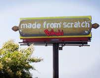 "Bojangle's ""Made From Scratch"" Outdoor Campaign"