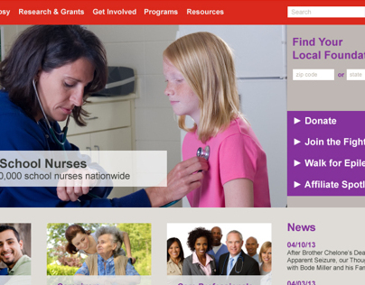 Epilepsy Foundation Website