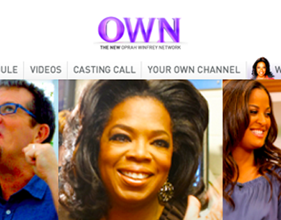 Oprah Winfrey Network Website