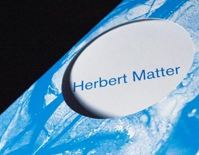 Herbert Matter Exhibition Catalog