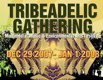 Tribeadelic Gathering 2008 - Flyer
