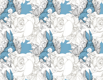 [Pattern] Alice in Wonderland