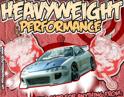 Flyer: Heavyweight Performance