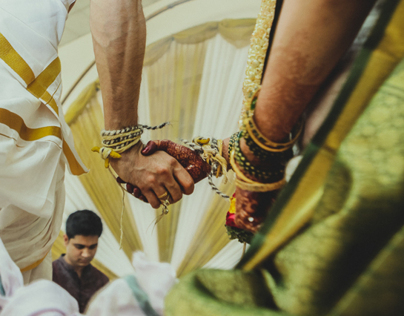 Priyanka & Santosh: Wedding