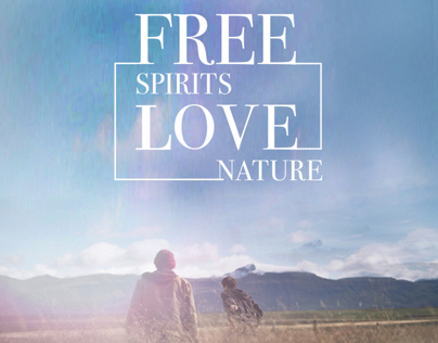 FREE SPIRITS LOVE NATURE    by Timberland