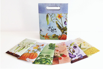 Dig it ( Seed Package Paper promotion)