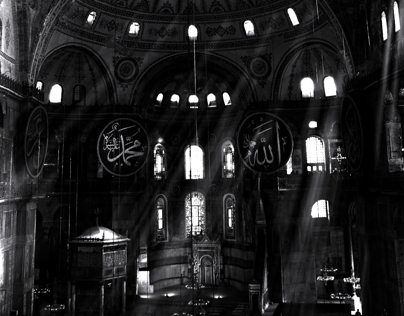 Light of faith in Aya Sofia | Istanbul