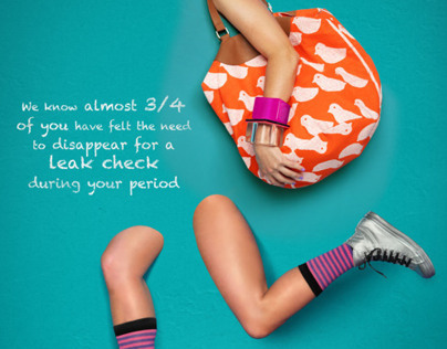 U By Kotex Print Campaign