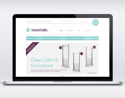 TowelRails.Com - Unused Brand Concept