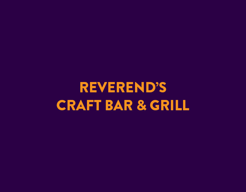 Reverends Bar & Grill Menu
