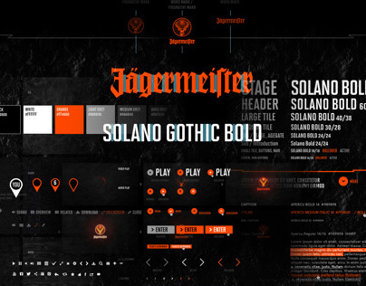 Jägermeister Relaunch & Global Digital Styleguide