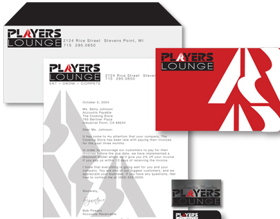 Players Lounge Rebrand