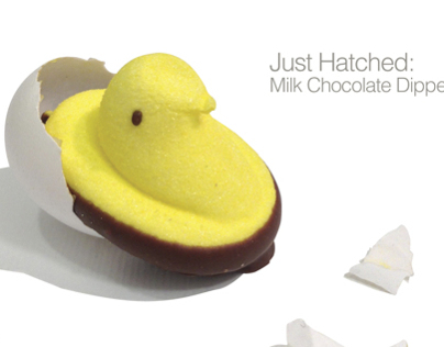Peeps Just Hatched Advertisement