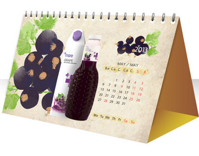 DESK CALENDAR DESIGN FOR AZGRANATA