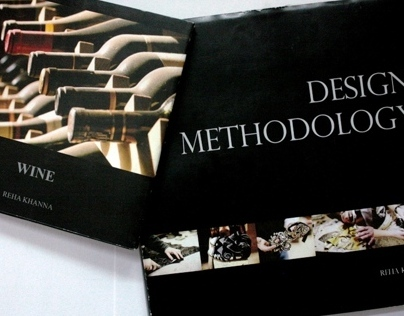Books- Design Methodology & Wine