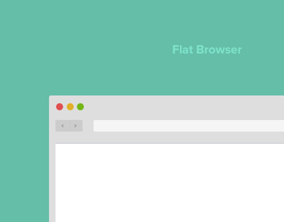 Flat UI elements - Browser / Editor