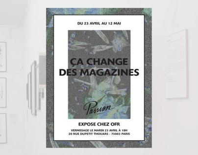 Ca change des magazines - Passion chez 0fr