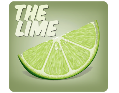 Prototype UI Design for iPhone App. The Lime