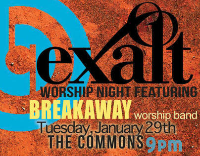 Exalt Worship Night featuring Break Away