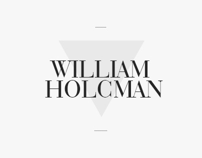 William Holcman portfolio 2012