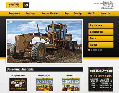 Caterpillar Auction Services