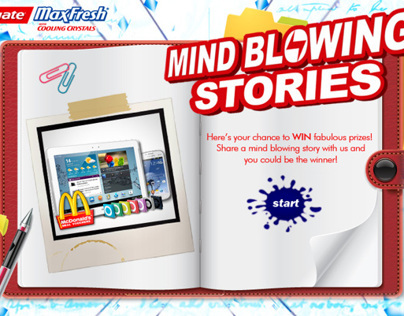 Colgate MaxFresh Mind Blowing Stories