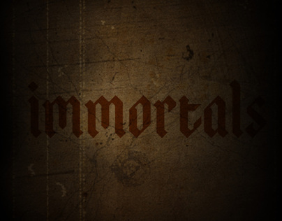 Immortals Movie Title Sequence