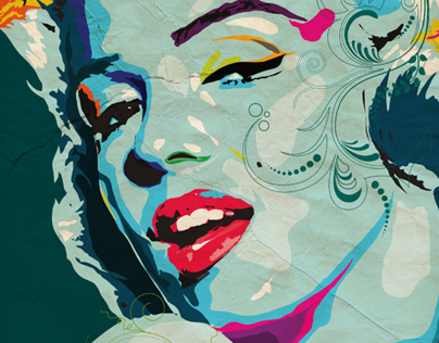 Marilyn Monroe Tribute Art