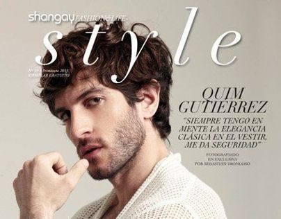 Quim Gutierrez for Shangay magazine