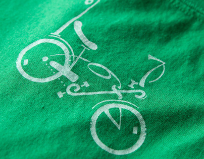 PERSONAL PROJECT: Bicycle Typography/Graphic Design