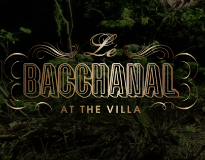 Bacchanal Party Invitation