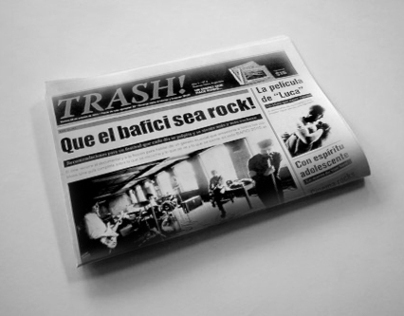 Trash newspaper