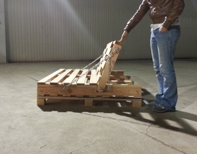 Pallet Furniture Study - 1 : The Industrial Futon