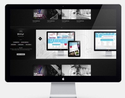 Personal Website Portfolio - Second Approach