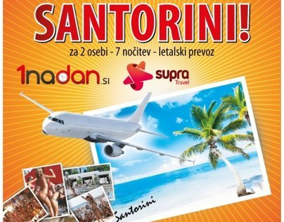 Flyer - Trip to Santorini