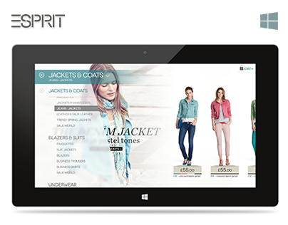Esprit Windows 8 Application