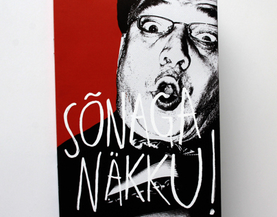 Cover Design for Sõnaga Näkku