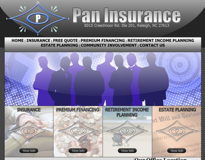 Pan Insurance Website