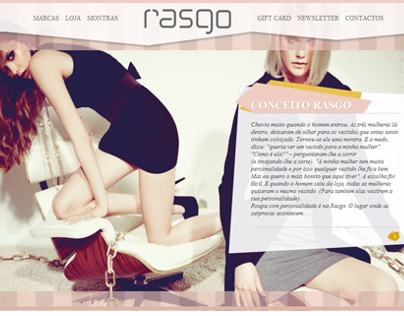 Rasgo - Fashion Store - Website
