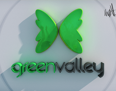 GreenValley 3D Logo 2013