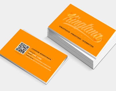 Kingtana Design Business Cards