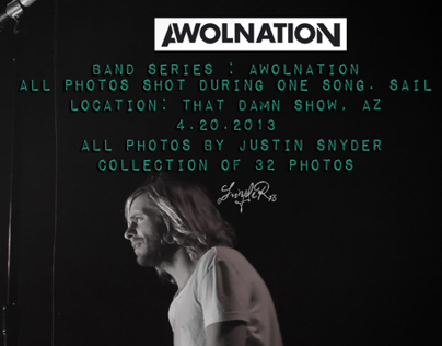 Photo Shoot : AWOLNATION