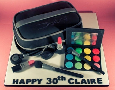 MAC Makeup Bag Birthday Cake