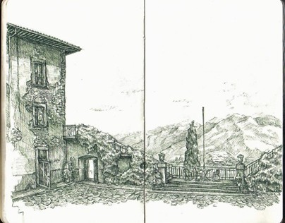 Italy Sketchbook #1